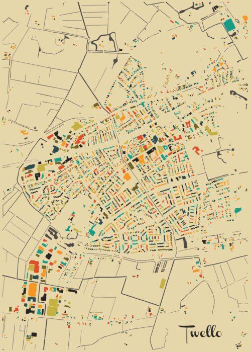 Twello Autumn Mosaic Map