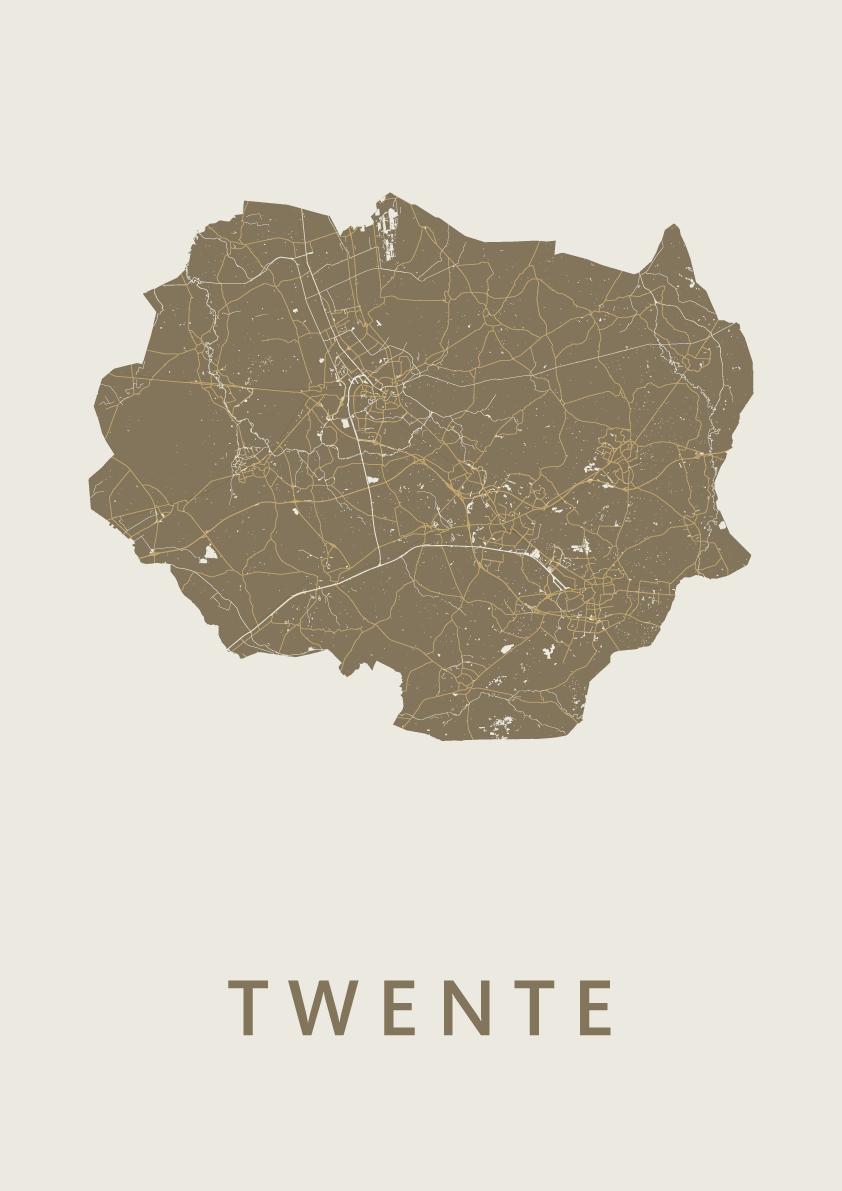 Twente Gold Map