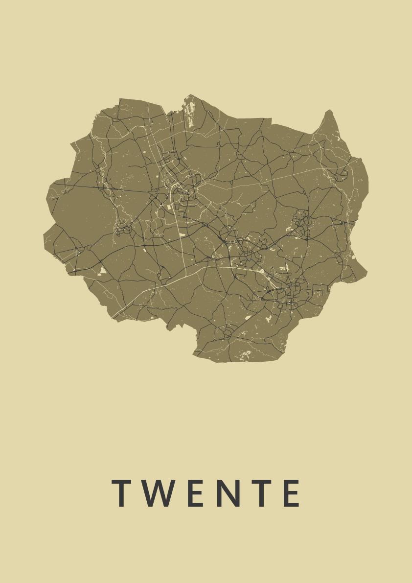 Twente GoldenRod Map