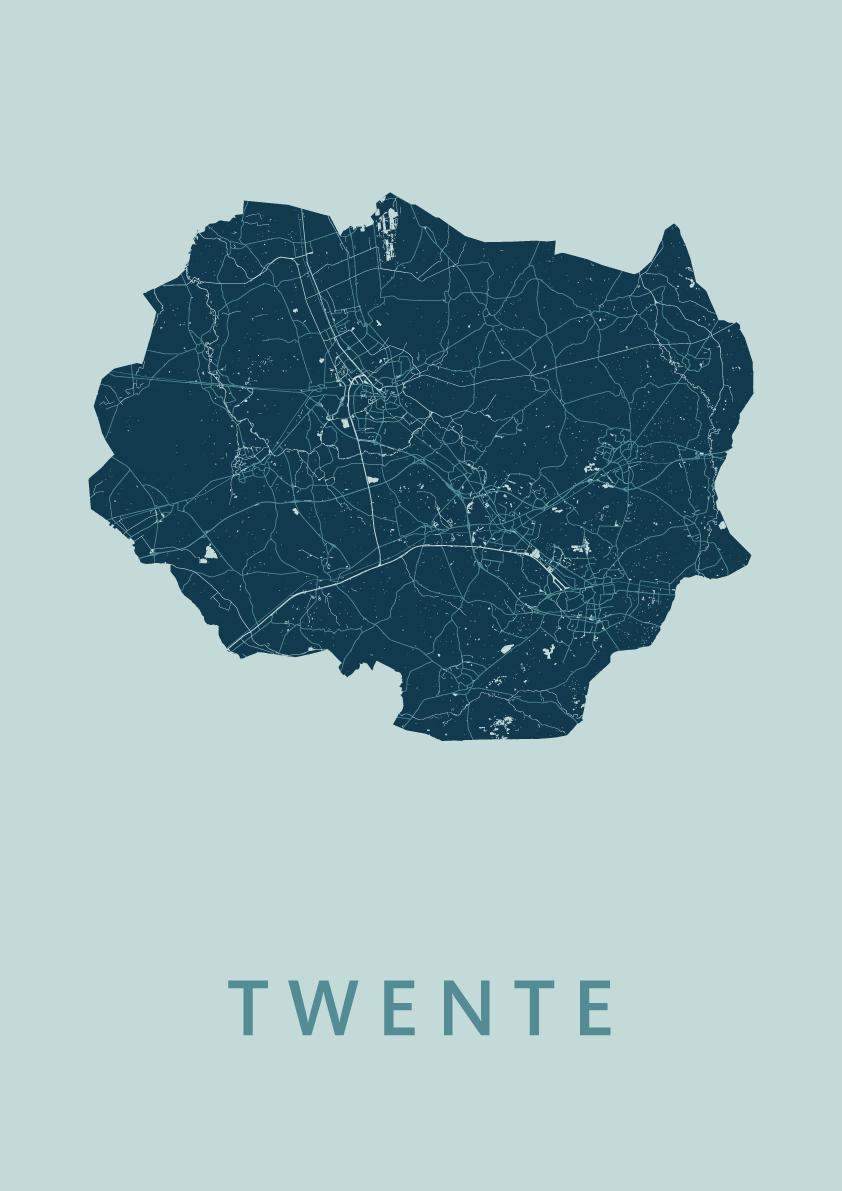Twente Mint Map
