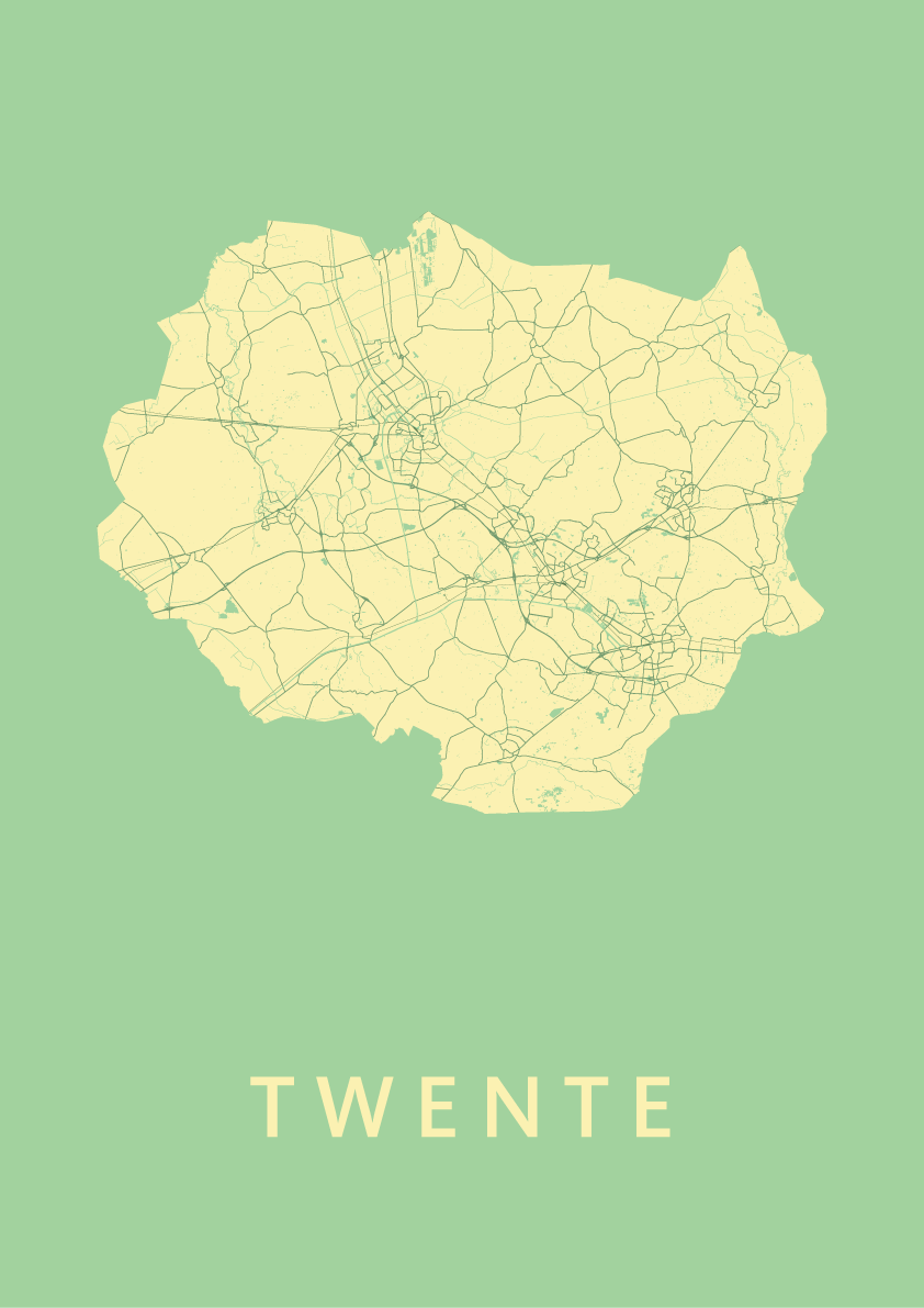 Twente Spring Map