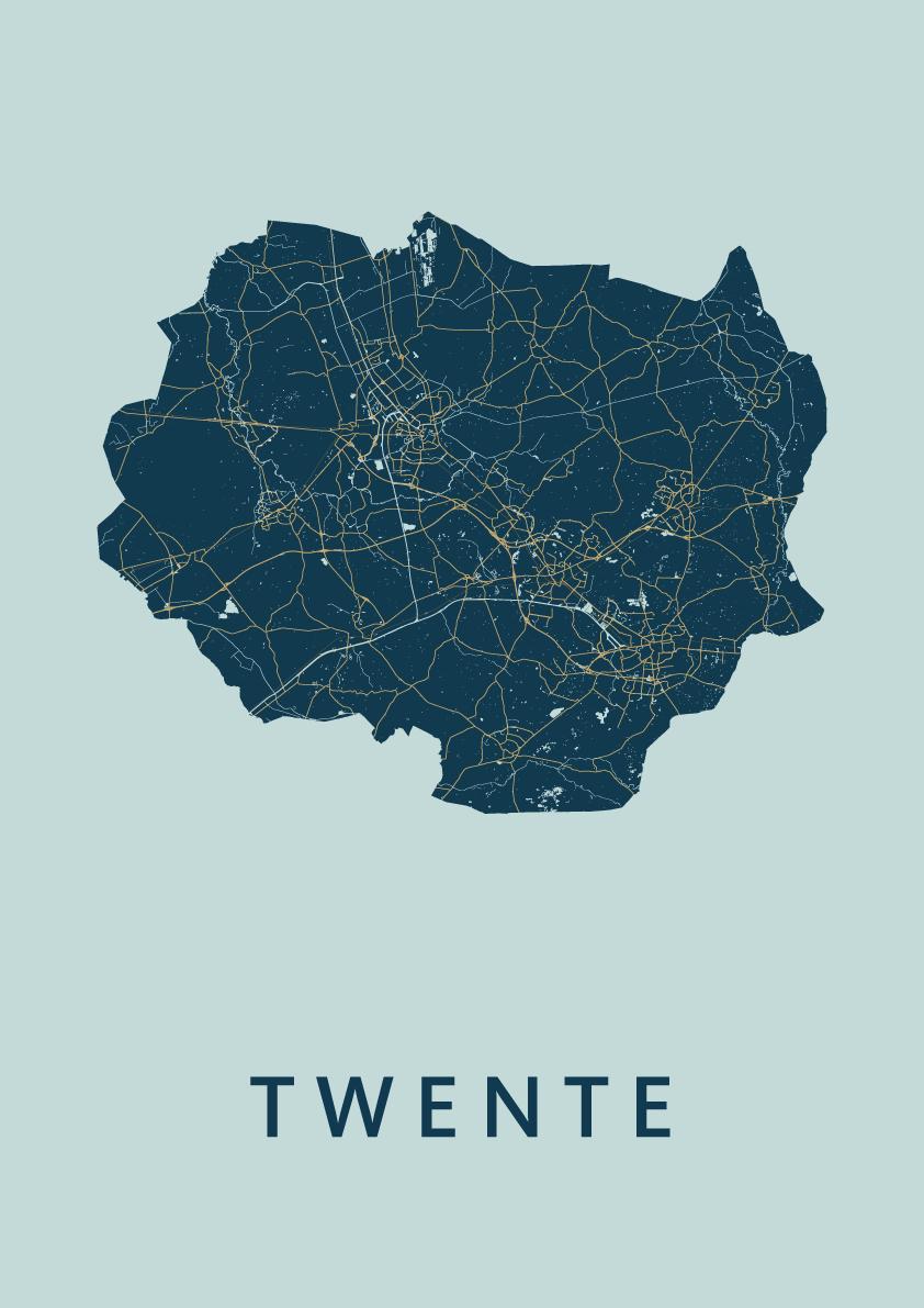 Twente Prussian Map