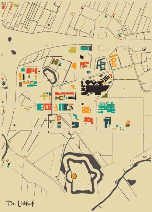 De Uithof Autumn Mosaic Map