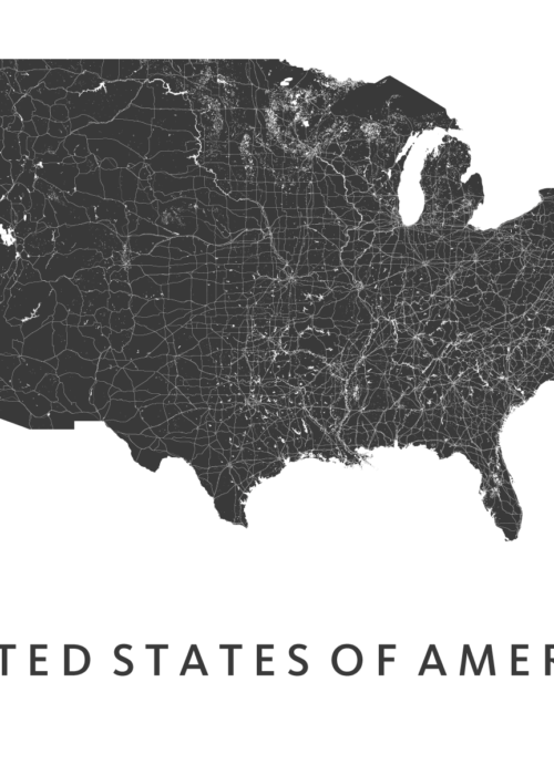 United States of America Country map