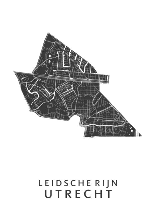 Utrecht - Leidsche Rijn White Wijk Map