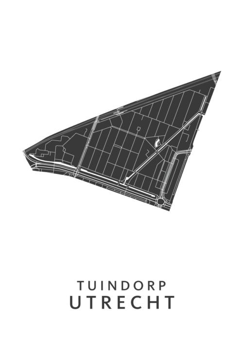Utrecht - Tuindorp White Wijk Map