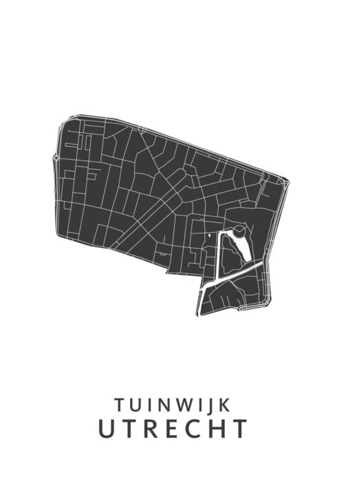 Utrecht - Tuinwijk White Wijk Map