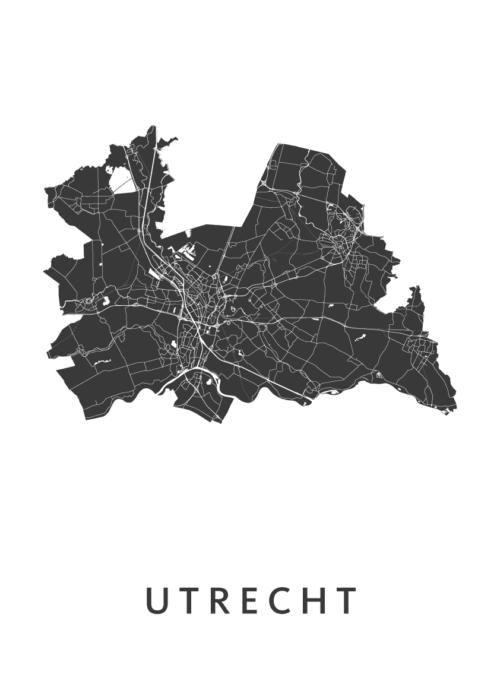 Utrecht Provinciekaart