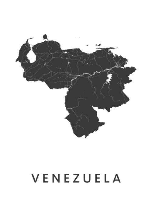 Venezuela Landkaart
