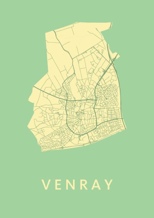 Venray City Map Spring