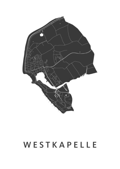 Westkapelle White city Map