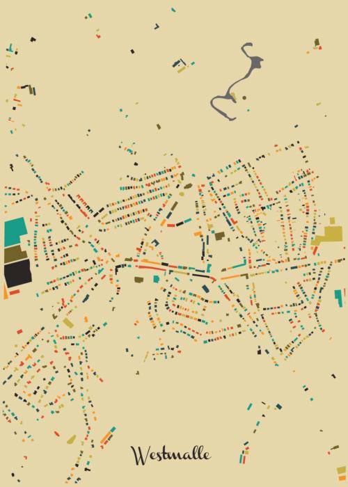 Westmalle Autumn Mosaic Map