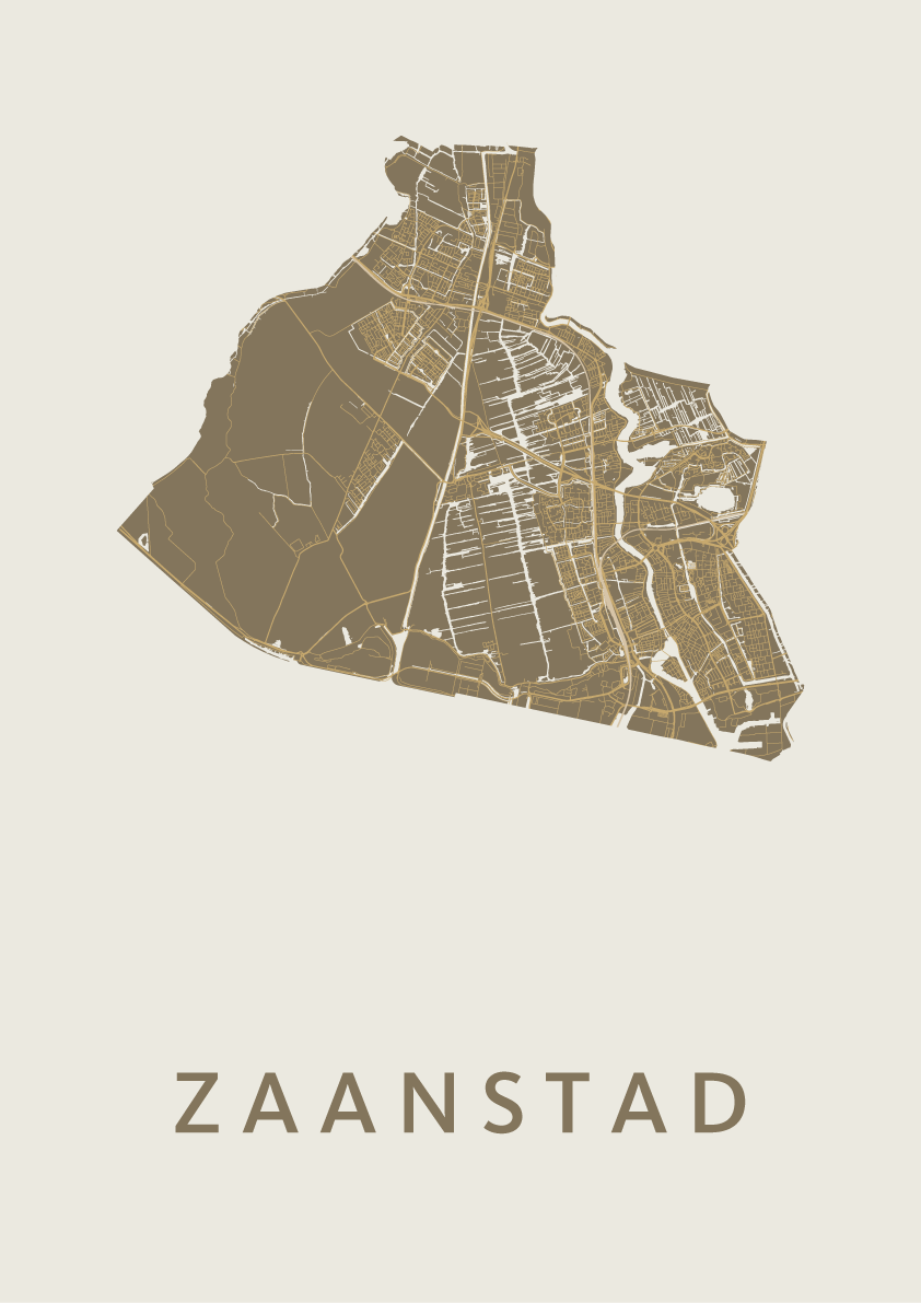 Zaanstad Gold City Map