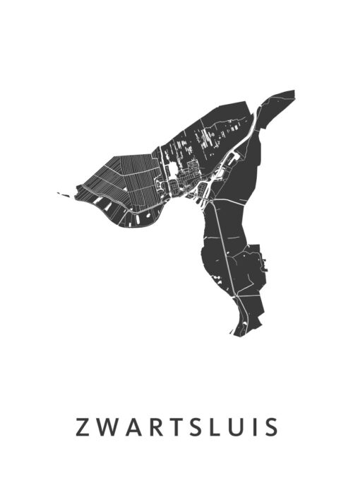 Zwartsluis Stadskaart