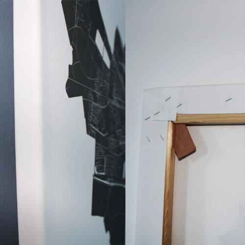Canvas Print Stadskaarten | Kunst in Kaart