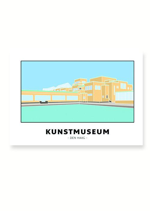 Kunstmuseum - Den Haag - Poster