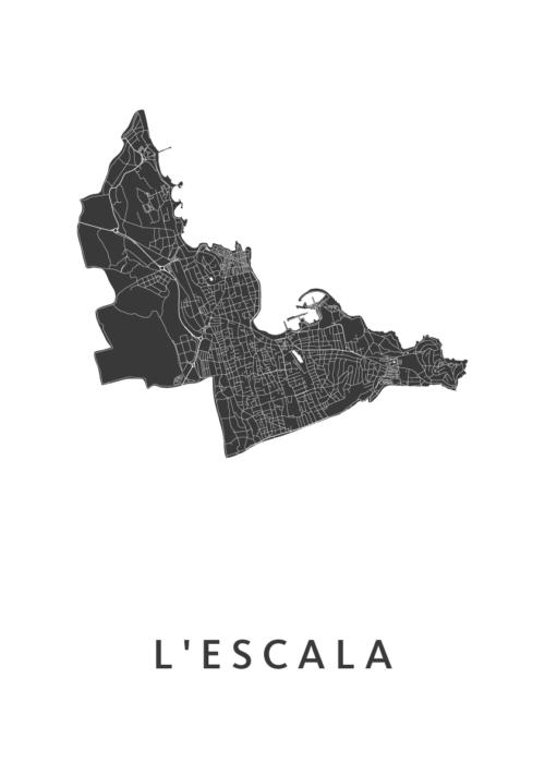 L'Escala White City Map
