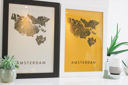 Metallic luxe papiersoorten Kunst in Kaart
