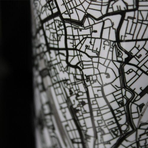 Bedrukte mokken stadskaarten - Kunst in Kaart