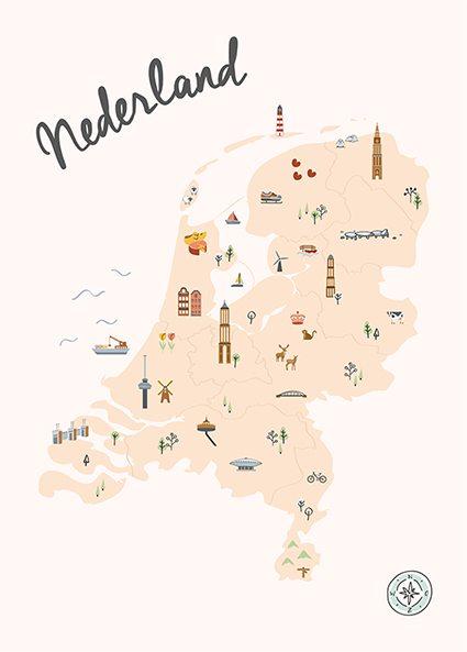 Nederland in Kaart