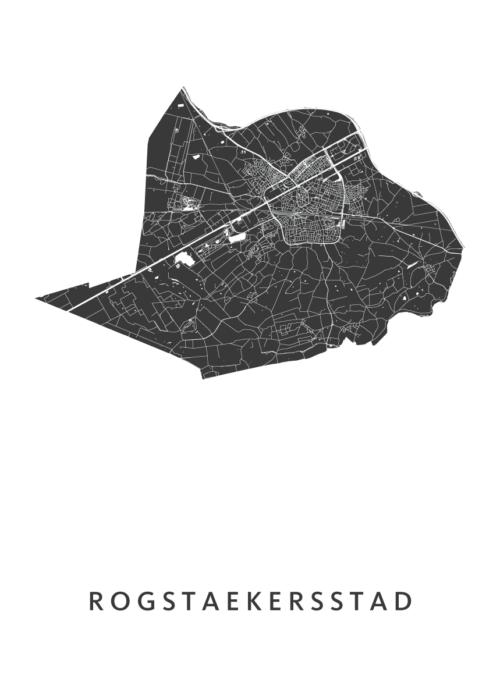 Rogstaekersstad Carnaval Map