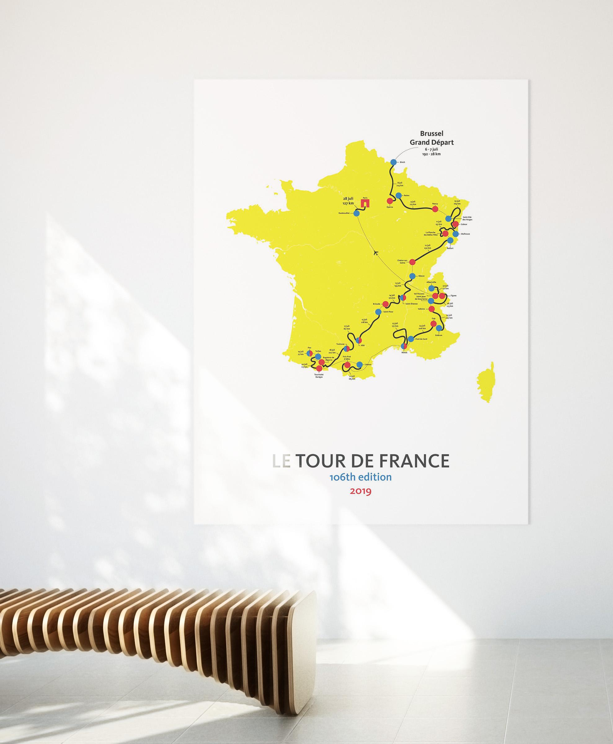 Tour de France - 2019 - poster