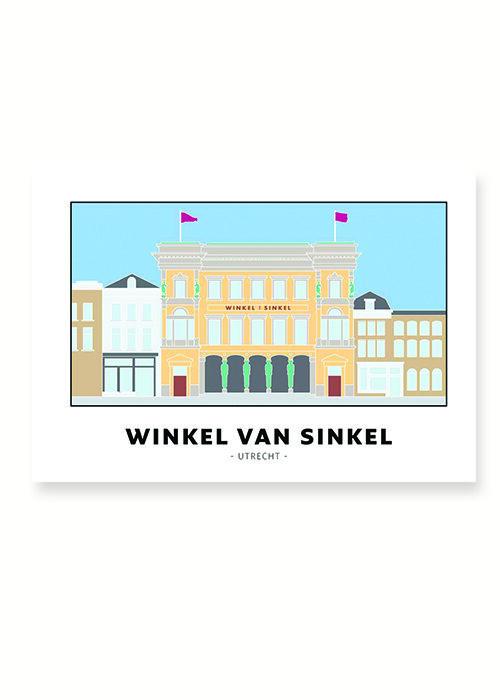 Winkel van Sinkel - Utrecht - Poster